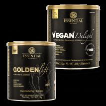 Golden Lift (210g) Essential Nutrition + Vegan Delight (250g) Essential Nutrition