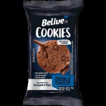 Cookie Sem Glutén Double Chocolate 34g - Belive