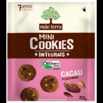 Cookies Orgânico cacau (120g)  Mãe Terra