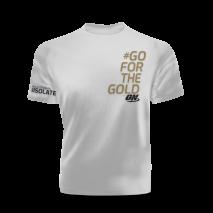 Camiseta #GO FOR THE GOLD Optimum Nutrition