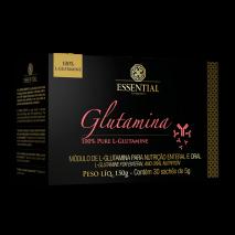 L-Glutamina (30 sachês de 5g) Essential Nutrition
