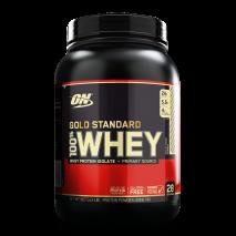 100% Whey Protein (1.9lb/900g) Optimum Nutrition-Rocky Road (Chocolate com Amendôas)