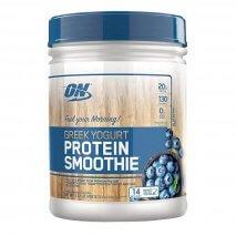 Greek Yogurt Protein Smoothie (1lb/462g) Optimum Nutrition-Blueberry - 40% OFF