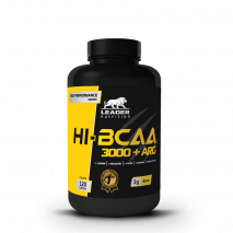 HI-BCAA 3000 + Arginina (120tabs) Leader Nutrition