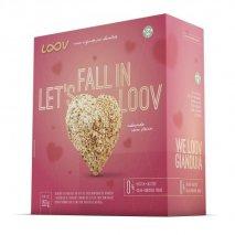 Loov Coração com Recheio de Gianduia (250g) Chocolife
