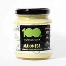 Maionese de Avocado (190g) 100 Foods