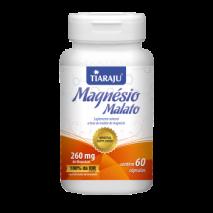 Magnésio Malato 450mg (60Caps) Tiaraju