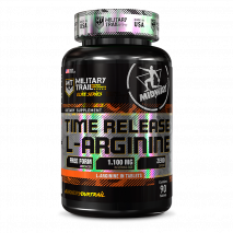Time Release L-Arginina (90tabs) Military Trail