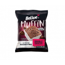 Muffin Double Chocolate Zero 40g- Belive