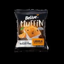 Muffin Laranja Com Chocolate Zero 40g - Belive