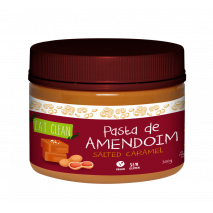 Pasta de Amendoim Salted Caramel (300g) Eat Clean