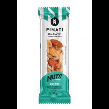 Barra Pinati Nuts Coco (unidade-30g) Super Saude
