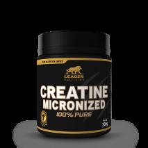 Creatina Micronized 100% Pure (300g) Leader Nutrition