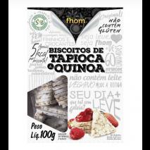 Biscoito de Tapioca com Quinoa (100g) Fhom