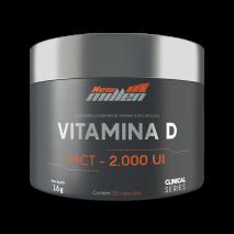 Vitamina D (30caps) New Millen