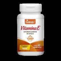 Vitamina E 400UI (60Caps) Tiaraju