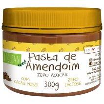 Pasta de Amendoim Com Cacau Nibs (300g) Eat Clean