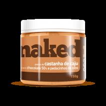 Pasta de Castanha de Caju com Chocolate 50% e Nibs (150g) Naked Nuts