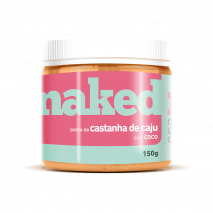 Pasta de Castanha de Caju com Coco (150g) Naked Nuts