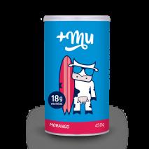 Pote de Whey Protein +Mu (450g) +Mu
