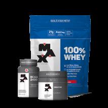 Kit Auxílio Ganho de Massa Muscular V Max Titanium