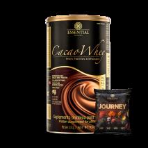 Cacao Whey (900g) Essential Nutrition + Journey Mediterranean Cracker (25g) Grátis