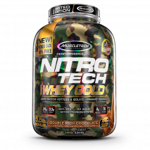 Nitro Tech 100% Whey Gold Camuflada (2500g) MuscleTech