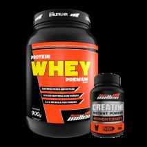 Protein Whey (900g) + Creatina Monohidratada (150g) New Millen