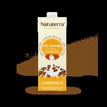 Café Gelado Com Bebida de Amêndoas (1000ml) Natuterra-Caramelo