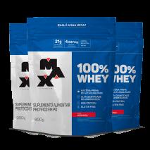 100% Whey Protein (3xRefil-900g) Max Titanium