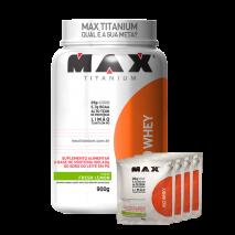 Iso Whey (900g) Max Titanium + 120g Grátis