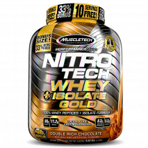 NitroTech 100% Whey Gold Isolate (1810g) MuscleTech