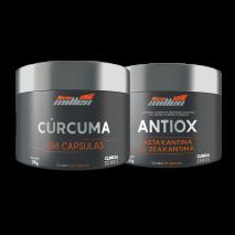 Combo Pro Imunidade Cúrcuma + Antiox New Millen