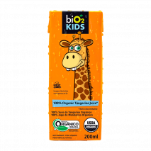 BiO2 Juice Kids (200ml) BiO2-Tangerina