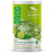 Bebida Proteica (390g) Refresh Whey-Chá Verde com Limão - 40% OFF
