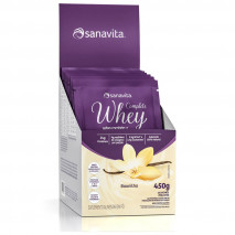 Complete Whey (15 sachês de 30g) Sanavita