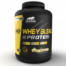 Hi-Whey Blend 8 Protein (1800g) Leader Nutrition