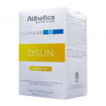 DSun 2000u (100softgel) Atlhetica Nutrition