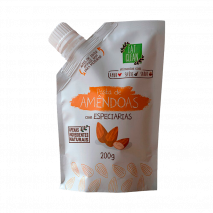 Pasta de Amêndoas com Mix de Especiarias (200g) Eat Clean