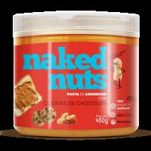 Pasta de Amendoim com Cookies de Chocolate (450g) Naked Nuts - 50% OFF