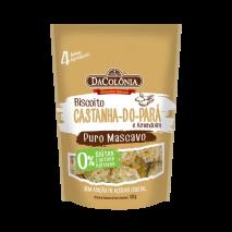 Biscoito de Castanha-do-Pará e Amendoim (100g) DaColônia