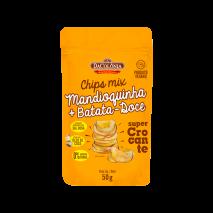 Chips de Mandioquinha e Batata Doce (50g) DaColônia - 40% OFF
