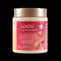 Creme de Gianduia Branco Loov (750g) Chocolife
