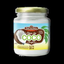 Óleo de Coco Virgem (200ml) DaColônia