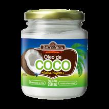 Óleo de Coco Extra Virgem (200ml) DaColônia