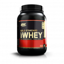 100% Whey Protein (1.9lb/900g) Optimum Nutrition-Horchata (Arroz Doce) - 40% OFF