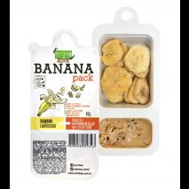 Banana Pack Castanha Cacau e Nibs (46g) Eat Clean