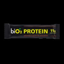 Barra de Proteína Alfarroba e Pasta de Amendoim (40g) BiO2