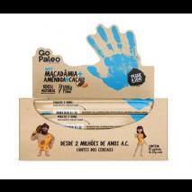 Barra Go Paleo Macadamia + Amêndoa + Cacau (12unid-25g) Super Saúde