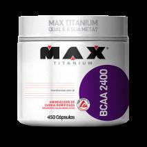 BCAA 2400mg Titanium (450caps) Max Titanium